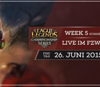 League of Legends Viewing Party + BarStone Meisterschaft // 26.06 im FZW Dortmund